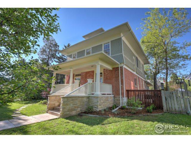 720 Mapleton Ave, Boulder, CO 80304 (MLS #821690) :: 8z Real Estate