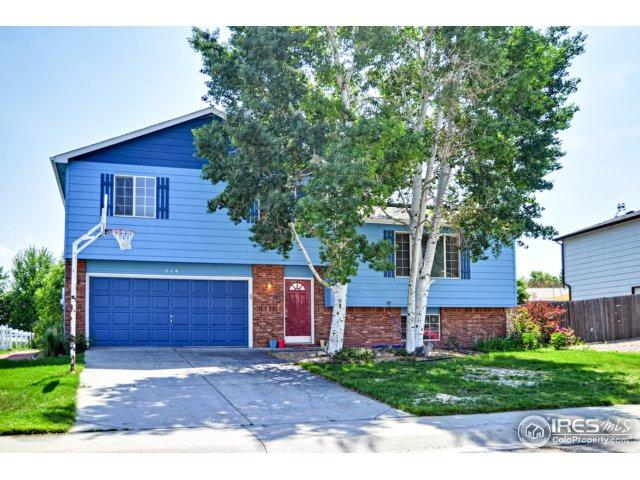214 N 43rd Ave Ct, Greeley, CO 80634 (MLS #822674) :: 8z Real Estate