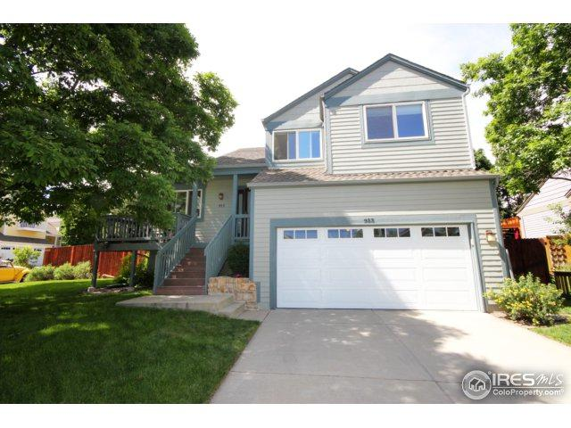 955 Arapahoe Cir, Louisville, CO 80027 (MLS #823370) :: 8z Real Estate