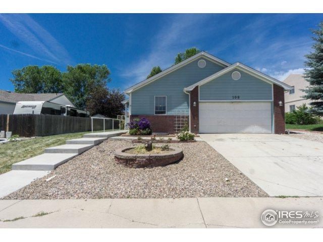 108 Phyllis Ave, Johnstown, CO 80534 (MLS #823637) :: 8z Real Estate