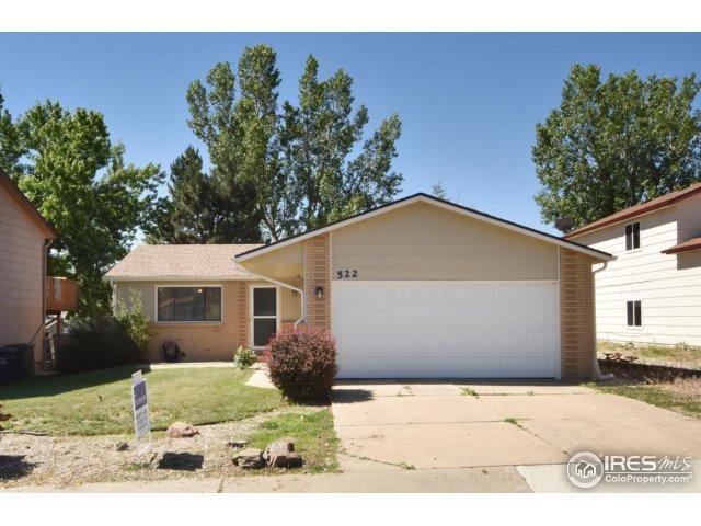 522 E 42nd St, Loveland, CO 80538 (MLS #823670) :: 8z Real Estate