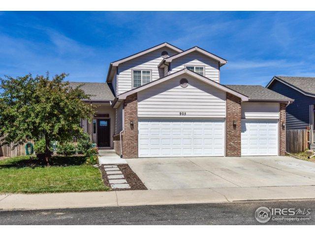 905 Cliffrose Way, Severance, CO 80550 (MLS #824188) :: Kittle Real Estate
