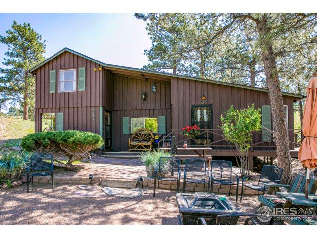 347 Moon Shadow Rd, Livermore, CO 80536 (MLS #824466) :: Kittle Real Estate