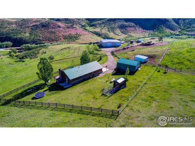 215 Willow Patch Ln, Bellvue, CO 80512 (MLS #824578) :: Group 46:10 Northern Colorado