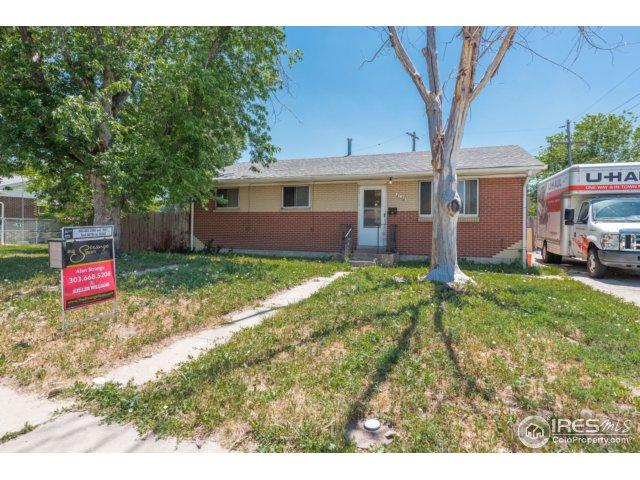 6140 Stockley Ave, Commerce City, CO 80022 (#824739) :: The Griffith Home Team