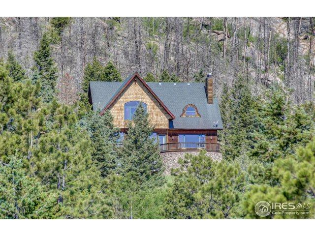15860 Rist Canyon Rd, Bellvue, CO 80512 (MLS #824978) :: Downtown Real Estate Partners