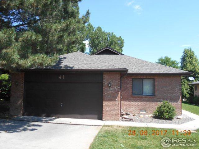 1001 43rd Ave #41, Greeley, CO 80634 (MLS #825019) :: 8z Real Estate