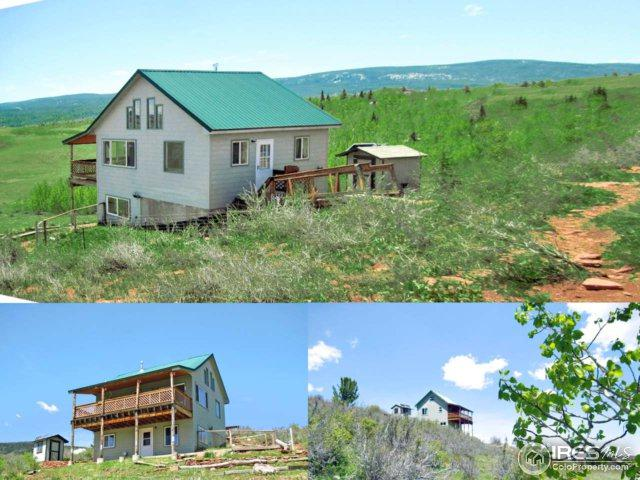 442 Mountain Ridge Rd, Red Feather Lakes, CO 80545 (MLS #825245) :: 8z Real Estate