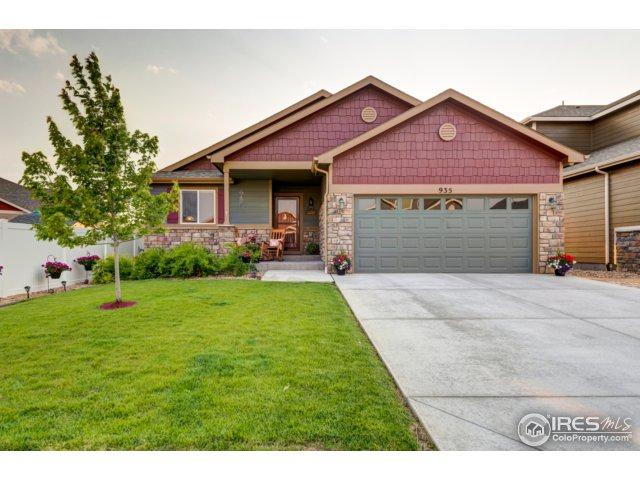 935 Antila Ave, Loveland, CO 80537 (MLS #825399) :: 8z Real Estate