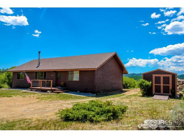 123 Birdie St, Red Feather Lakes, CO 80545 (MLS #825469) :: 8z Real Estate
