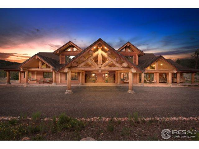 1236 Ridge Rd, Ward, CO 80481 (MLS #825528) :: 8z Real Estate