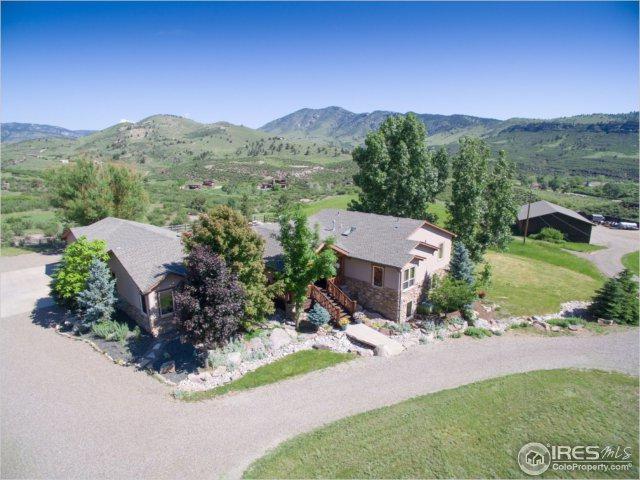 1609 County Road 37E, Lyons, CO 80540 (MLS #825704) :: 8z Real Estate