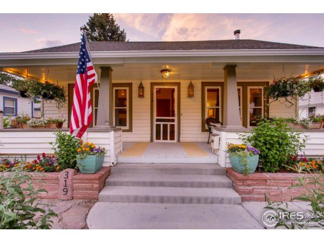 319 W 8th St, Loveland, CO 80537 (MLS #825773) :: 8z Real Estate