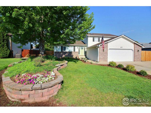 307 N 45th Ave Ct, Greeley, CO 80634 (MLS #825858) :: 8z Real Estate