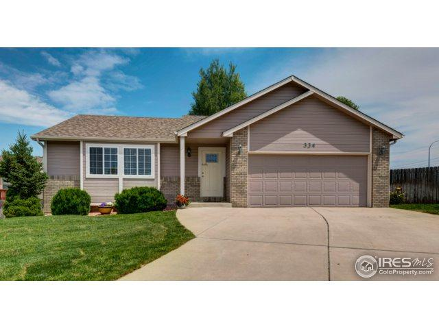 334 53rd Ave Ct, Greeley, CO 80634 (MLS #826051) :: 8z Real Estate