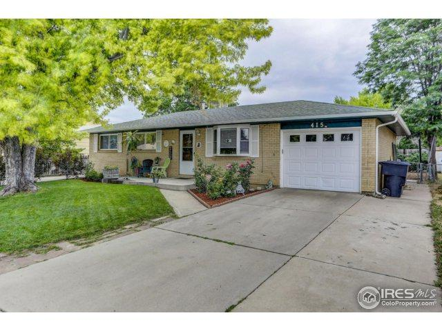 415 Dickson St, Longmont, CO 80504 (MLS #826554) :: 8z Real Estate