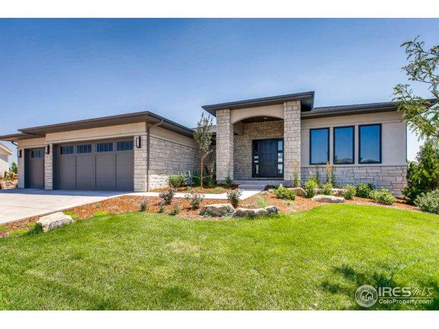 4030 Ridgeline Dr, Timnath, CO 80547 (MLS #826719) :: The Forrest Group