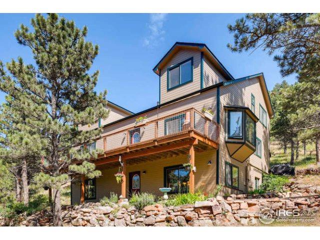 471 Flint Gulch Rd, Lyons, CO 80540 (MLS #826796) :: 8z Real Estate