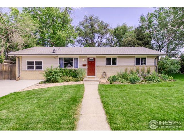 700 32nd St, Boulder, CO 80303 (MLS #827179) :: 8z Real Estate
