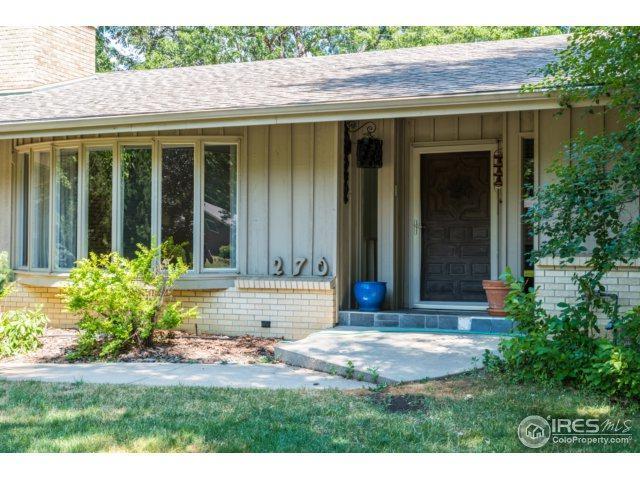 270 Lipan Way, Boulder, CO 80303 (MLS #827215) :: 8z Real Estate