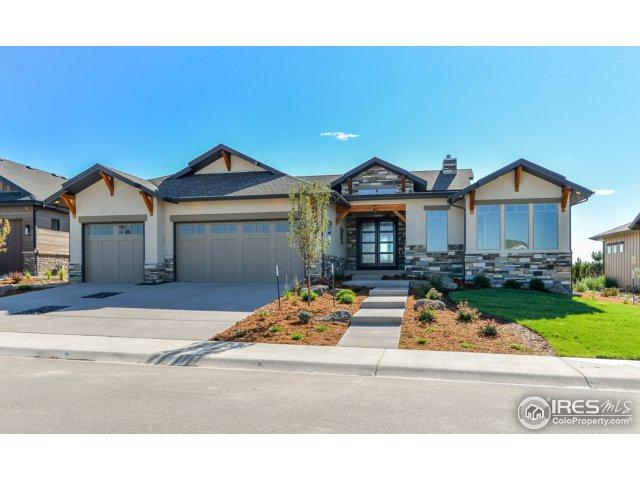 3934 Ridgeline Dr, Timnath, CO 80547 (MLS #827372) :: The Forrest Group
