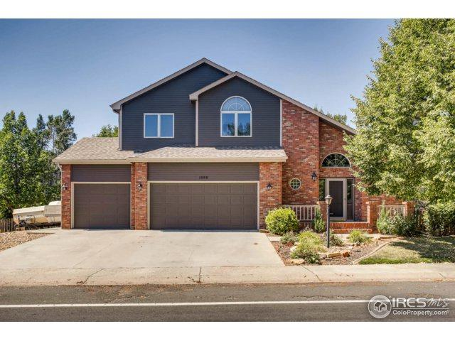 1886 Park Dr, Loveland, CO 80538 (MLS #827462) :: Downtown Real Estate Partners