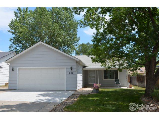 882 S Buckeye Dr, Loveland, CO 80537 (MLS #827481) :: Downtown Real Estate Partners