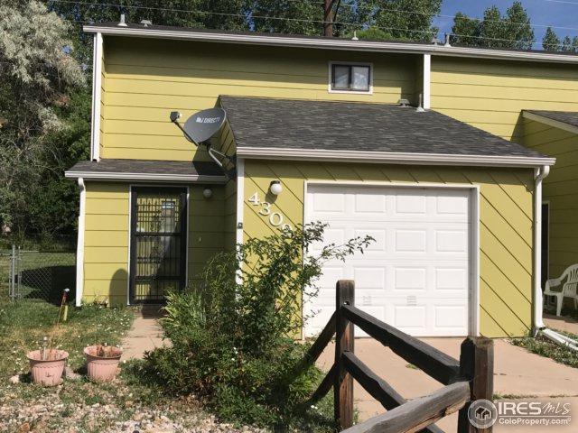 4309 Flag Dr, Laporte, CO 80535 (MLS #827490) :: Downtown Real Estate Partners