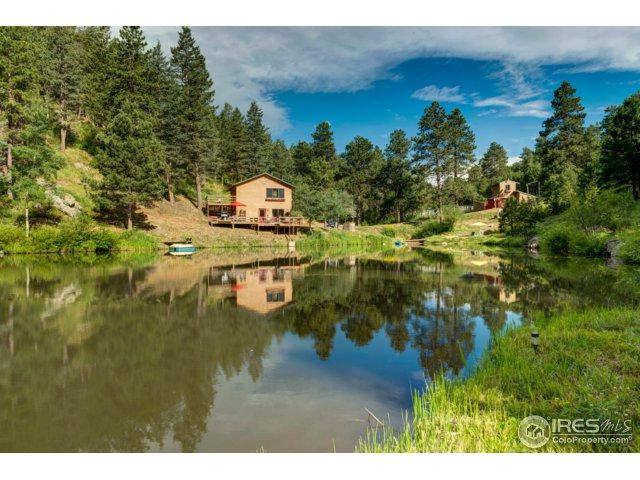 1268 Spring Valley Rd, Bellvue, CO 80512 (MLS #827577) :: 8z Real Estate