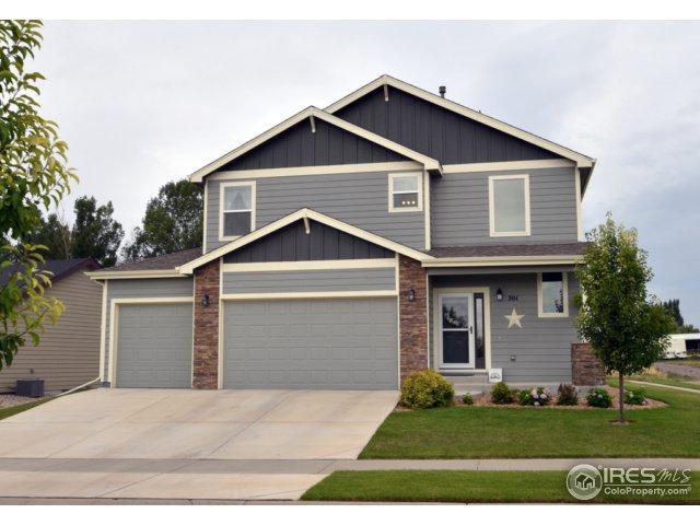 301 Audubon Blvd, Severance, CO 80550 (MLS #827717) :: 8z Real Estate
