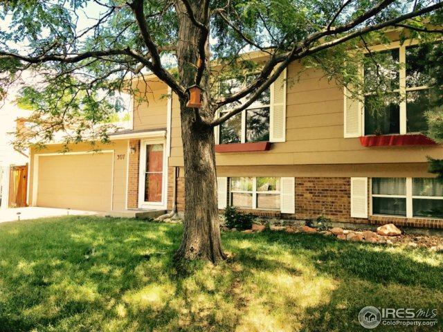 307 W Lucerne Dr, Lafayette, CO 80026 (MLS #827840) :: 8z Real Estate