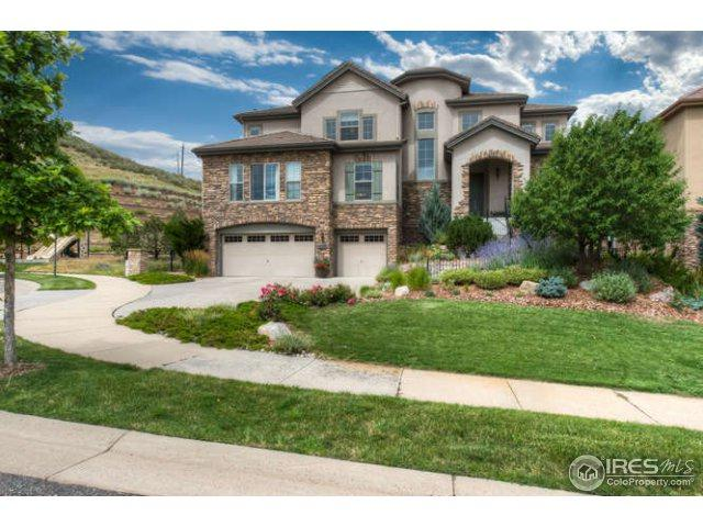10535 Rivington Ct, Lone Tree, CO 80124 (#827948) :: The Griffith Home Team