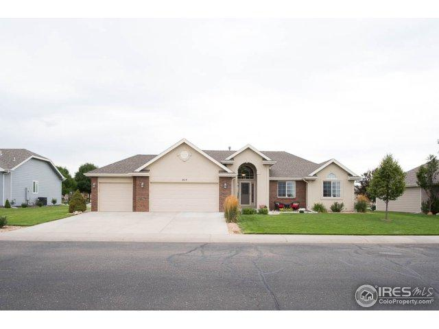 217 S Mountain View Dr, Eaton, CO 80615 (#827950) :: The Griffith Home Team