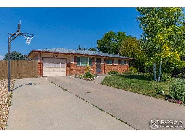 533 37th Ave, Greeley, CO 80634 (MLS #827969) :: 8z Real Estate