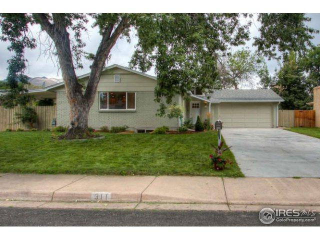 311 Seminole Dr, Boulder, CO 80303 (MLS #828347) :: 8z Real Estate