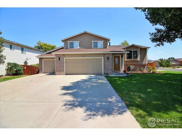 182 50th Ave Pl, Greeley, CO 80634 (MLS #828356) :: 8z Real Estate