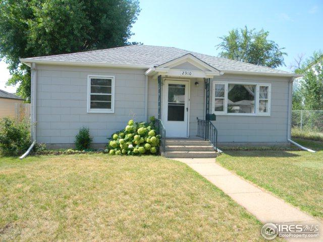 2310 W 8th St, Greeley, CO 80634 (MLS #828601) :: 8z Real Estate