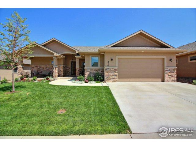510 Double Tree Dr, Greeley, CO 80634 (MLS #828683) :: 8z Real Estate