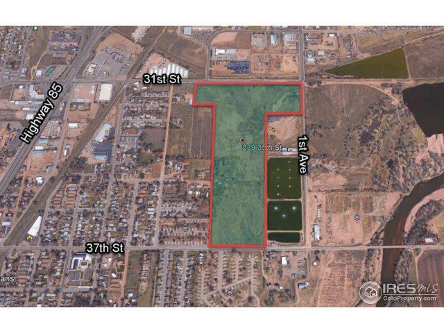 239 35th St, Evans, CO 80620 (MLS #828806) :: 8z Real Estate