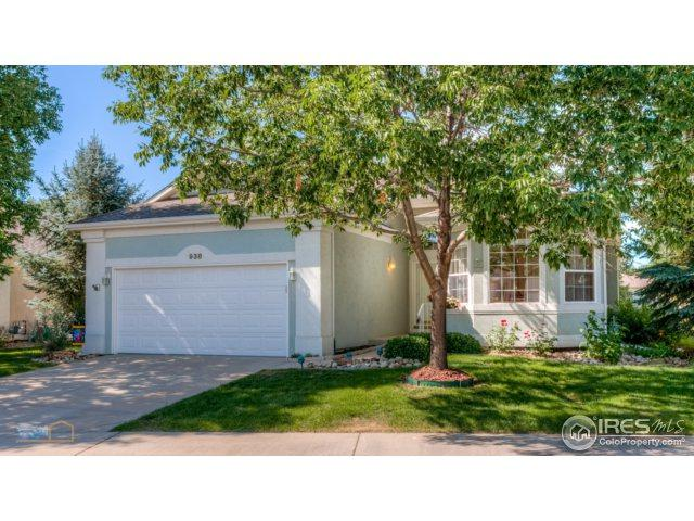 938 Champion Cir, Longmont, CO 80503 (MLS #828974) :: 8z Real Estate