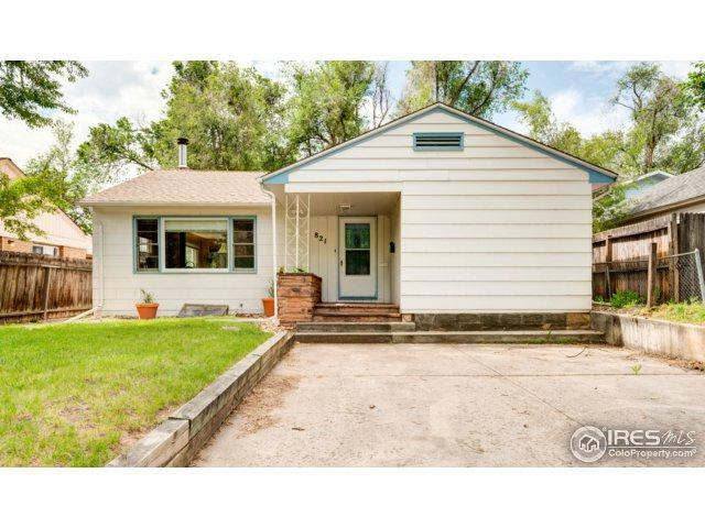 821 W Mulberry St, Fort Collins, CO 80521 (MLS #828988) :: 8z Real Estate