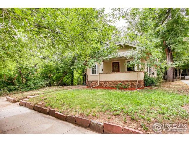 744 University Ave, Boulder, CO 80302 (MLS #829112) :: 8z Real Estate