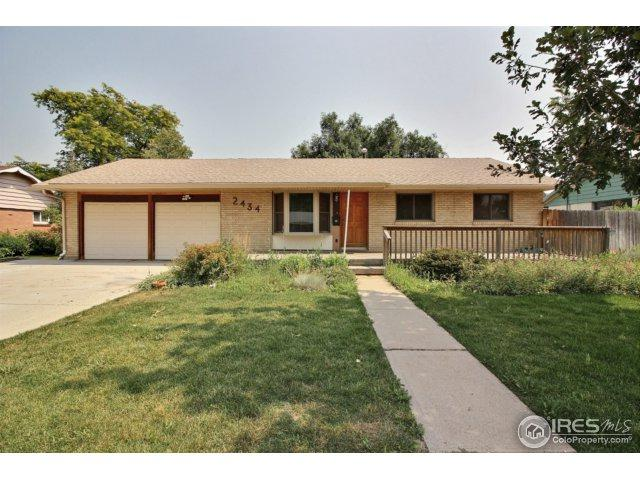 2434 25th Ave, Greeley, CO 80634 (MLS #829115) :: 8z Real Estate