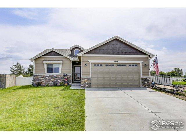 104 Primrose Ct, Ault, CO 80610 (MLS #829191) :: 8z Real Estate