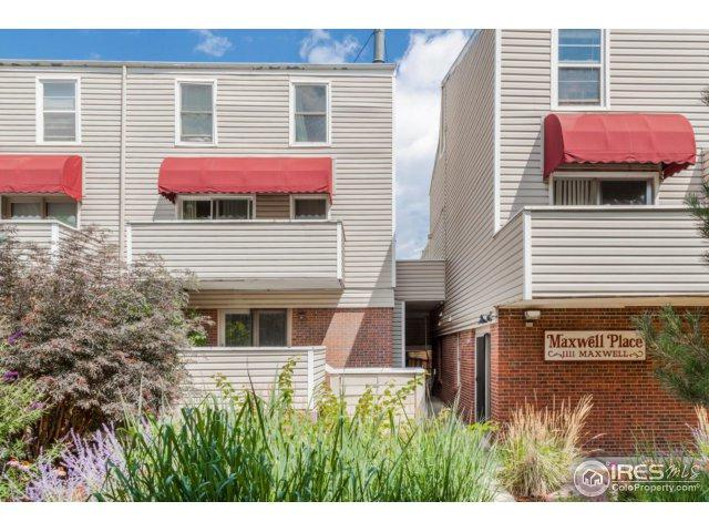 1111 Maxwell Ave #114, Boulder, CO 80304 (MLS #829234) :: 8z Real Estate