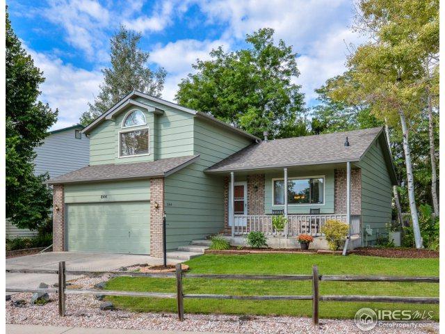 844 E 33rd St, Loveland, CO 80538 (MLS #829259) :: 8z Real Estate