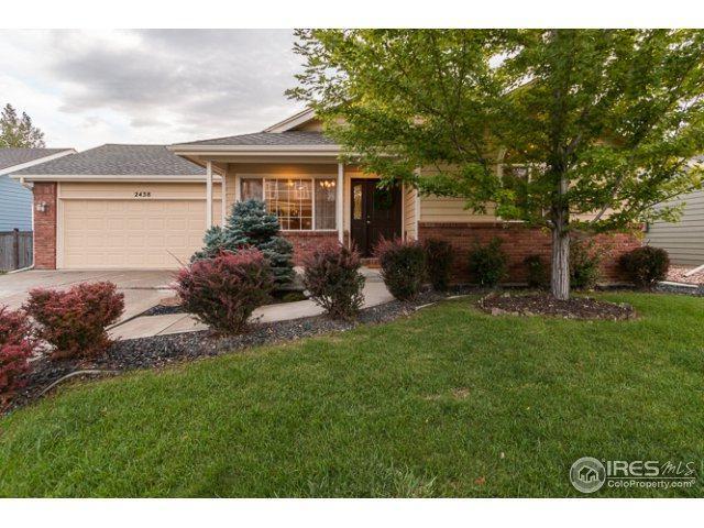 2438 W 45th St, Loveland, CO 80538 (MLS #829274) :: 8z Real Estate