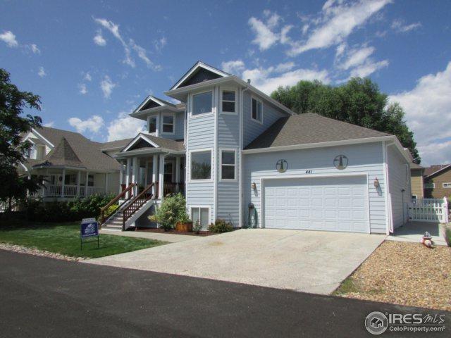 441 Cape Dory Dr, Loveland, CO 80537 (MLS #829301) :: 8z Real Estate