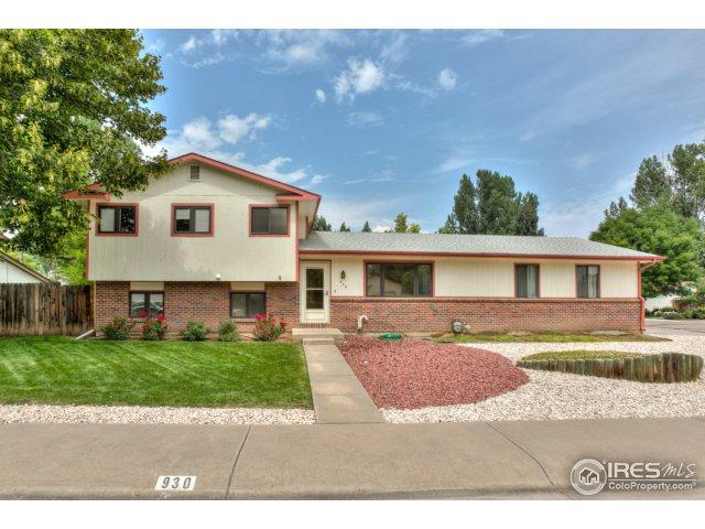 930 Cambridge Dr, Fort Collins, CO 80525 (MLS #829309) :: 8z Real Estate