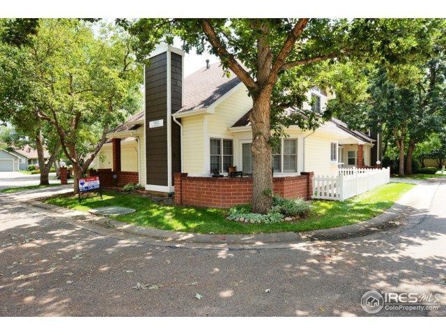 1020 Cunningham Dr #4, Fort Collins, CO 80526 (MLS #829346) :: 8z Real Estate